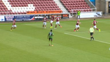 Northampton: 21 seconds to score!