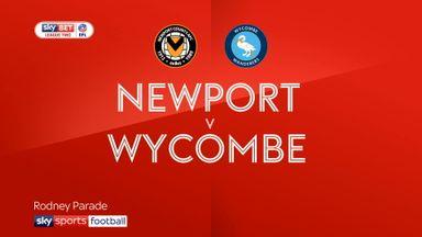 Newport 0-0 Wycombe