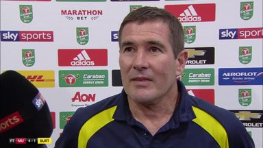 Clough: We tried to be positive