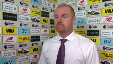 Dyche: Pope made two great saves