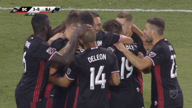 DC United 4-0 San Jose Earthquakes