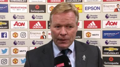Koeman: We didn't deserve this result