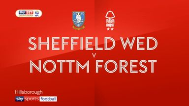 Sheffield Wed 3-1 Nott'm Forest