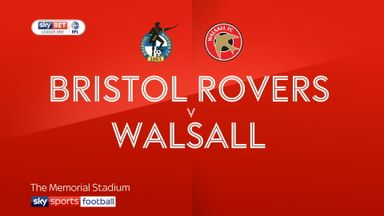 Bristol Rovers 2-1 Walsall
