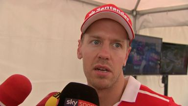 Vettel 'It's a difficult day'