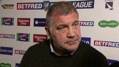 Shaun Wane: 'I'm not having it'