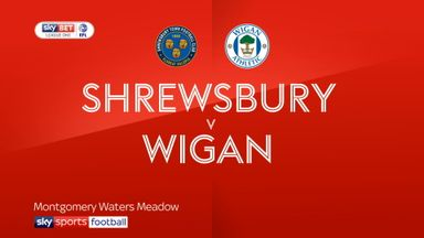 Shrewsbury 1-0 Wigan