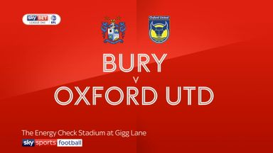 Bury 3-0 Oxford
