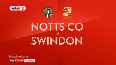 Notts County 1-0 Swindon