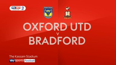 Oxford 2-2 Bradford
