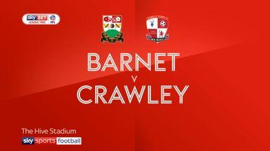 Barnet 1-2 Crawley