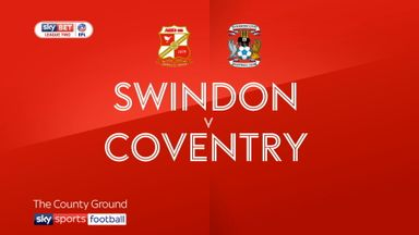 Swindon 1-2 Coventry