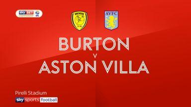 Burton 0-4 Aston Villa