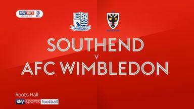 Southend 1-0 AFC Wimbledon