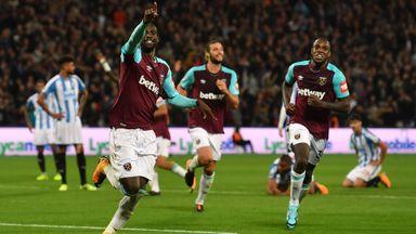 West Ham 2-0 Huddersfield