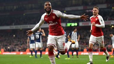 Arsenal 2-0 West Brom