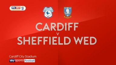 Cardiff 1-1 Sheff Wed