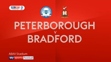 Peterborough 1-3 Bradford