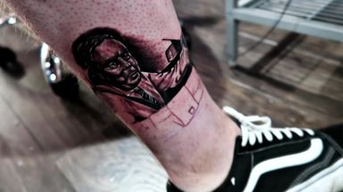 Redknapp reacts to fan tattoo!