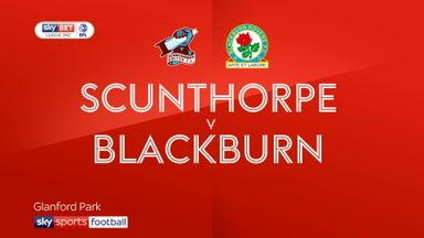 Scunthorpe 0-1 Blackburn