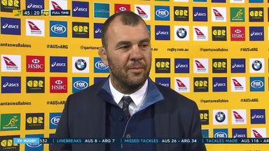 Cheika pleased with response