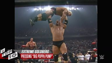 WWE Top 10: Goldberg's extreme moments