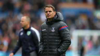 'Palace should have stuck with De Boer'