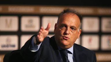 La Liga chief 'worried for football'