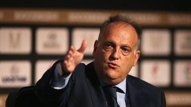 La Liga chief 'worried for football'