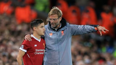Klopp: Coutinho could start