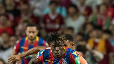 Zaha to return versus Chelsea?