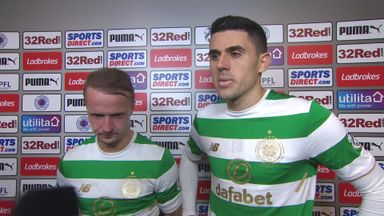 Rogic and Griffiths reflect on Old Firm victory