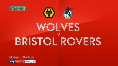 Wolves 1-0 Bristol Rovers AET