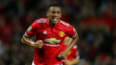 Mourinho praises 'happy' Martial