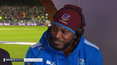 Gayle hints at Test return