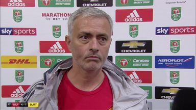 Mourinho: A professional performance