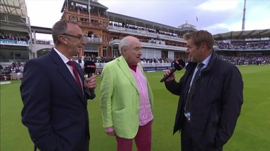 Henry Blofeld hangs up his mic