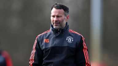 Giggs' tribute to Gareth Barry