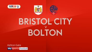 Bristol City 2-0 Bolton