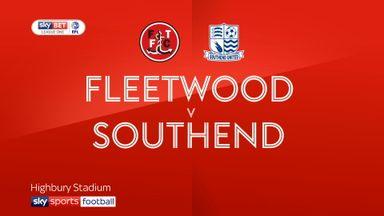 Fleetwood 2-4 Southend