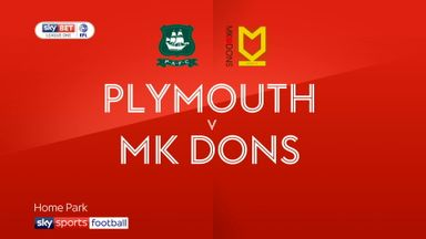 Plymouth 0-1 MK Dons