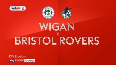 Wigan 3-0 Bristol Rovers