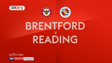 Brentford 1-1 Reading