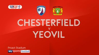 Chesterfield 2-3 Yeovil