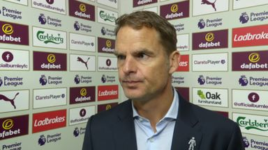 De Boer: We deserved more