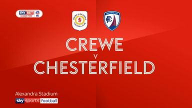 Crewe 5-1 Chesterfield