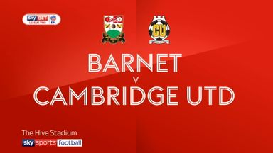 Barnet 3-1 Cambridge Utd