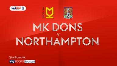 MK Dons 0-0 Northampton