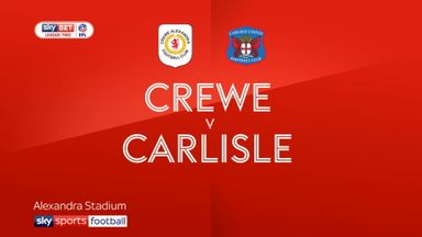 Crewe 0-5 Carlisle