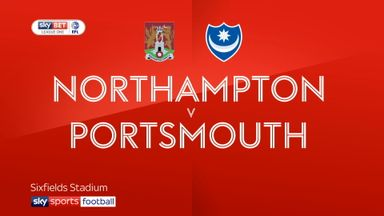 Northampton 3-1 Portsmouth